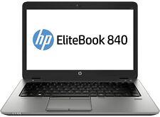 "HP EliteBook 840 i5 4 gen 1,9ghz 8 Go 256 Go SSD 14"" UMTS Win 10 Pro 1600x900 Webc"