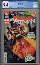 BATMAN #96 - CGC 9.4 - JOKER WAR PART TWO - 371155011