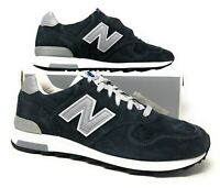 New Balance 1400 J Crew Classic Running Shoes Made USA Navy/Silver Suede M1400NV
