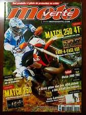 n°440 MOTO VERTE; Match 250 et 250 4T/ Ossa 280 Tri/ Livia lancelot/ La corrèze