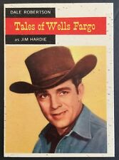 Vintage 1958 Topps TV WESTERNS card #57 JIM HARDIE combined ship
