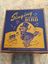 Vintage Irwin Singing Mechanical Bird