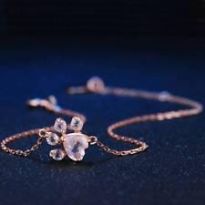 Fashion Cat Dog Paw Claw Print Bracelet Lovely Animal Bracelet Jewelry for Women