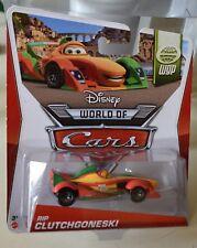 Disney Pixar Cars RIP CLUTCHGONESKI WORLD GRAND PRIX Series # 11 of 15 NEW