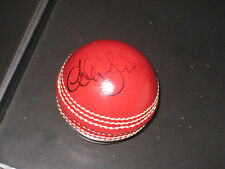 ANDREW SYMONDS HAND SIGNED RED CRICKET BALL UNFRAMED + PHOTO PROOF &  C.O.A