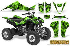 SUZUKI LTZ 400 KAWASAKI KFX 400 03-08 GRAPHICS KIT CREATORX DECALS INFERNO G