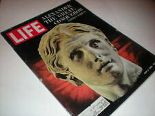 Life Magazine, May 3, 1963, Alexander The Great, Red China: Paper Dragon