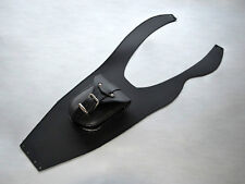 (P) YAMAHA DRAGSTAR & VSTAR XVS 650 LEATHER TANK Cover Pad Panel Strap Chap Bib