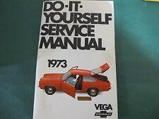 1973 Vega Do It Yourself Manual Very Nice !!