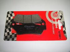 PASTIGLIE FRENO POSTERIORE MOTO GUZZI 1100 BREVA 2005 2006 2007 BREMBO 07001
