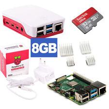 Raspberry Pi 4 RPi4 8GB RAM  Bundle 32GB, weiß Kühlkörper