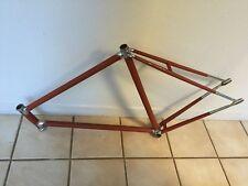 Vintage 60s Frejus Pista track bike frame 59cm ~Italian Legnano steel