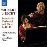 Wolfgang Amadeus Mozart - Keyboard and Flute Sonatas (Wincenc, Raps) [CD]