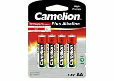 AA BATTERIES Camelion aa Battery Mignon type aa 4-unit blister 1,5V Alkaline