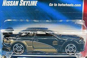 HOT WHEELS VHTF 2008 WEB TRADING CARS SERIES NISSAN SKYLINE