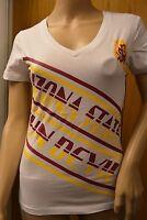 Womens Juniors Licensed NCAA ASU Arizona State Sun Devils Shirt NWT XS,S,M,L,XL
