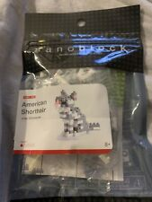 Building Blocks micro size 120 pieces American Shorthair New