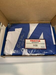 Bob Lilly Autographed Dallas Cowboys white Jersey Tristar Authentic