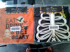 Halloween His and Hers Self Adjustable Aprons New