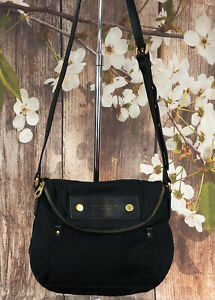 Marc Jacobs Nylon Crossbody Messenger Saddle Bag