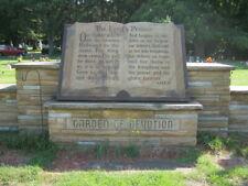 Cemetery Plot, Patton Cemetery in La Porte Indiana, in Garden of Devotion area