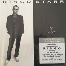 Y Not *  by Ringo Starr (180g LTD. Vinyl LP),Jan-2010 Hip-O Records)
