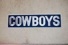 """NFL Dallas Cowboys Large Patch 13.75"""" L x 3.5"""" H"""