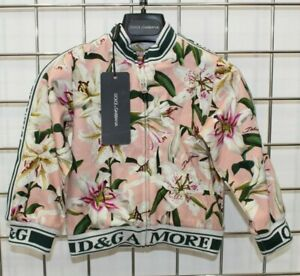 Dolce & Gabbana Girls Lilly Zip Up Jacket Brand New With Tags 24-30 months