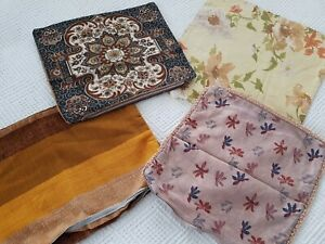 Vintage Retro assorted bundle of Cushion Covers 50s 60s 70s