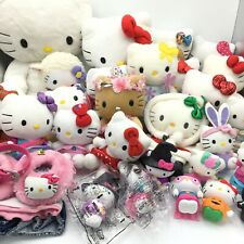 Sanrio Hello Kitty Plush And Toy Lot 27 Build A Bear, Ty, Vintage