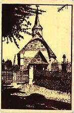 CPA Saint-Sylvestre de Cormeilles - L'Eglise   (163658)