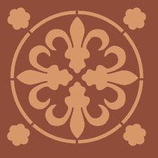 Tuile Stencils Prince of Wales carreau de pochoir A5 Re-utilisable Shabby Chic 050