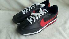 Nike Mach runner leather vintage  black / red UK size 7.5. 2012. Elite