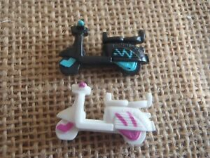 Vintage Polly Pocket Bluebird 1994 Scooters Polly on the Go Scooters Set