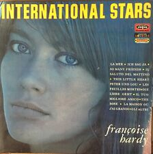 FRANCOISE HARDY International Stars VG+ LP France 1969 Disques Vogue Ye-Ye Pop