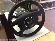 2003 Audi A6 Quattro Black Steering Wheel Airbag Assembly Complete unit w/key