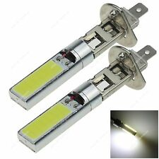 2x H1 Super White  2 * 12 Chips COB LED AC/DC 12-24V Fog Lamp Globes Bulbs H018
