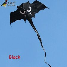 NEW 1.5m simulation Owl kite exclusive BLACK RED Color Outdoor fun Sports