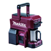 Makita DCM501ZAR 18v Coffee Machine Red Ltd Edition Cordless Body Only