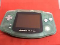 Nintendo Game Boy Advance Blue Green Glow In The Dark AGB-001 With Games Rare