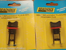 "DRAIN PLUG NYLON SEACHOICE 18651 1"" HOLE 2PAC SALE BOATINGMALL EBAY BOAT PART"