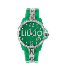 LIU JO Luxury CELEBRITY Reloj De Mujer TLJ089 Policarbonato Verde Swarovski
