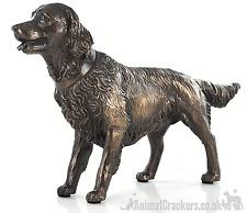 More details for beauchamp bronze golden retriever sculpture ornament figurine dog lover gift