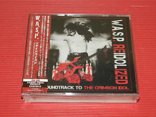 2018 JAPAN 2 CD + DVD  W.A.S.P. Reidolized The Soundtrack To The Crimson Idol