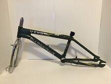 1999 Diamondback Venom BMX Bicycle Frame Fork Post Headset Green Freestyle Bike