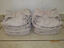Mother Ease cloth diapers...Set of 12, includes inserts