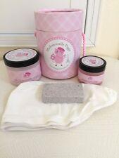 Mademoiselle Piggy Foot Care Set Socks Peppermint Cream Scrub Pumice Stone New