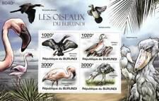 BIRDS Cormorant/Flamingo/Duck/Shoebill Stork Stamp Sheet #1 of 5 (2011 Burundi)