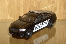WELLY FORD POLICE INTERCEPTOR SQUAD CAR -   DIE CAST COLLECTOR 1/24 SCALE ~~