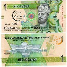 Turkmenistan Billet 1 MANAT 2017 COMMEMORATIVE SULTAN NOUVEAU NEW UNC NEUF